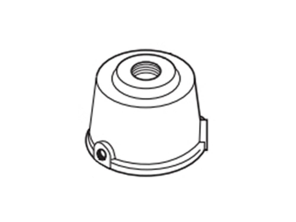Lithonia DSXF1/2TS DDBXD U Slipfitter for 2-3/8