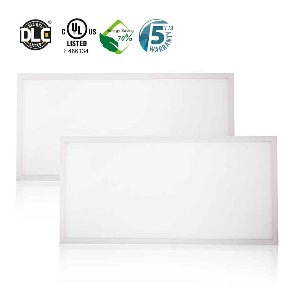 2x4 LED Panel - 6240 Lumens - 5000K - 48 watts - GLT FPS24-55L-50K-D10