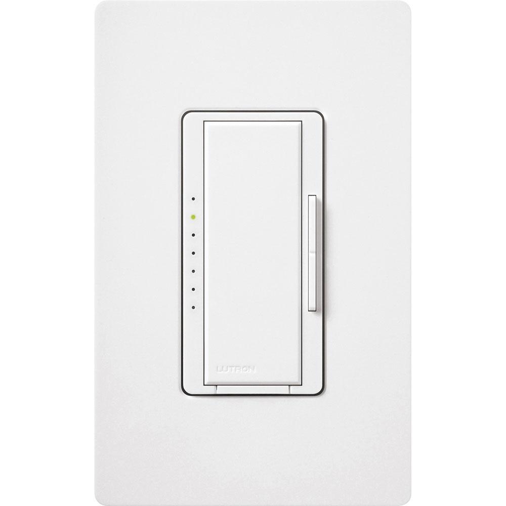 Maestro Single Pole/3-Way/4-Way/Multi-Location CFL/LED Dimmer - White
