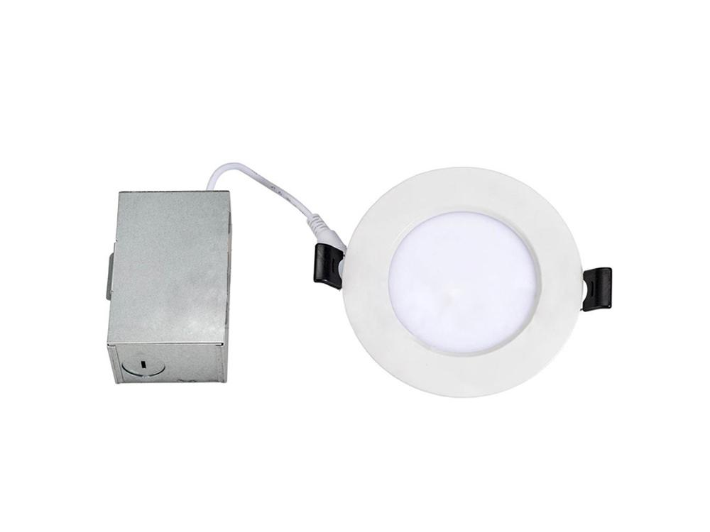 6 in - 75W Equal - LED Ultra Thin Downlight - Canless - 850 Lumens - 12W - Tunable White - White - 6