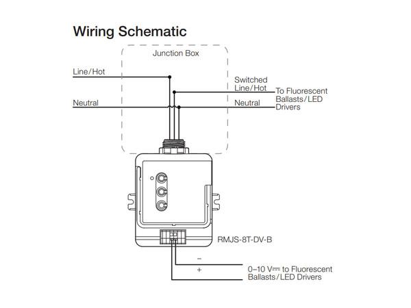 0 10v dimming ballast wiring diagram lutron rmjs 8t dv b vive powpak dimming module bees lighting  rmjs 8t dv b vive powpak dimming module