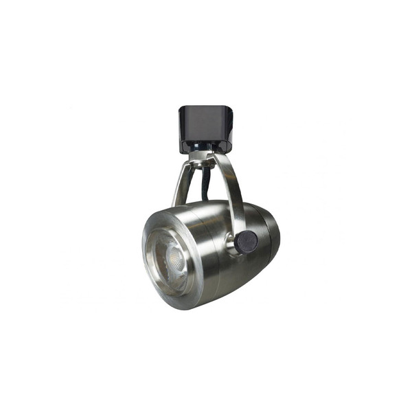 Led Track Lighting Head Integrated Led 12w 820 Lumens 3000k Brushed Nickel Nuvo Th417