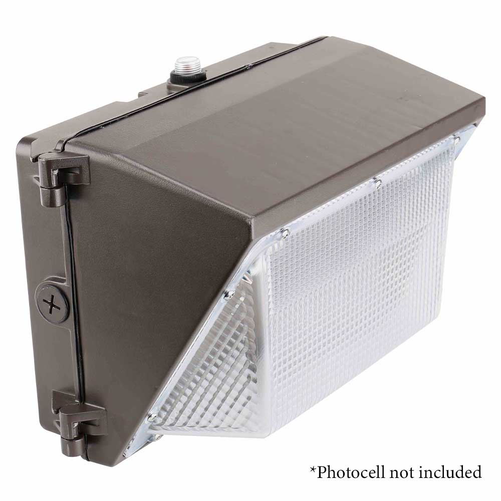 LED Wall Pack - 39 Watt - 5480 Lumens - 5000K - 175W MH Equal - GLT TWP-45WU50K-D10
